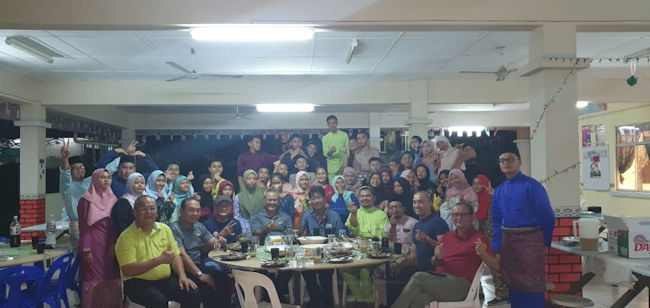 Kudat Air Scouts Host Dinner For Sabah Flying Club Flight Familiarization Activities