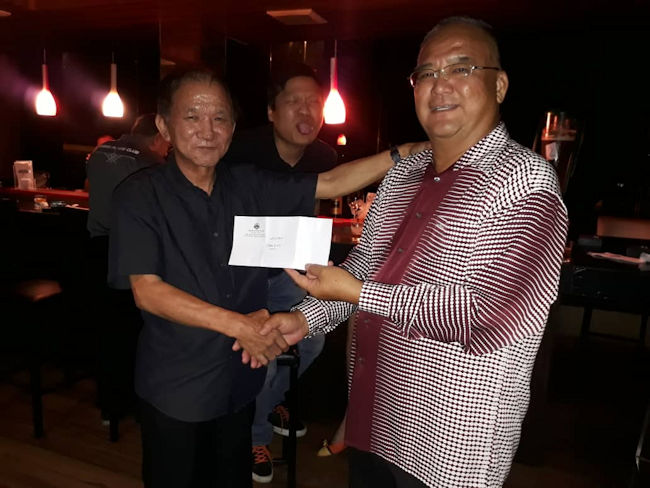SFC Annual Dinner 2019, 9 Ball Pool Competition Champion Mr. Willie Ng